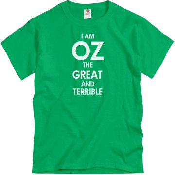 The Great and Terrible Unisex Gildan Heavy Cotton Crew Neck Tee