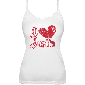 I Heart Justin Bella Junior Fit Bra Cami