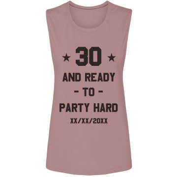 Dirty Thirty Misses Relaxed Fit Basic Gildan Ultra Cotton Tee