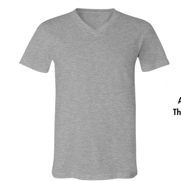 Are We There Yet? Unisex Canvas V-Neck Jersey Tee