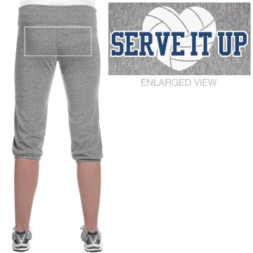 Serve It Up Junior Fit Bella French Terry Lounge Pants