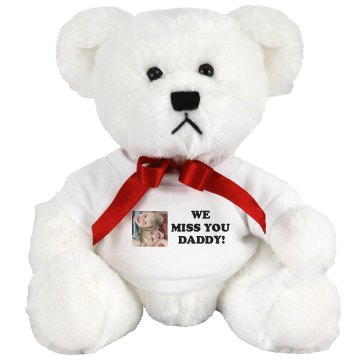 We Miss You Daddy! Plush Lion
