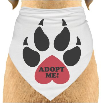 Adopt Me Paw Dog Bandana