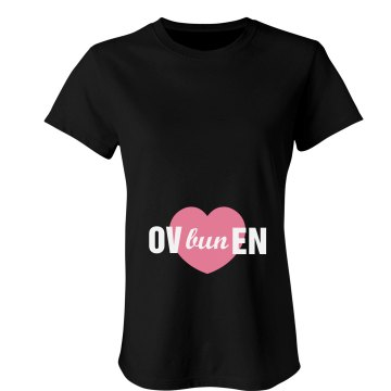 OVbunEN Tee Junior Fit Bella Sheer Longer Length Rib Tee