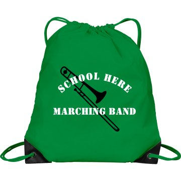 Dublin Marching Band  Port & Company Drawstring Cinch Bag