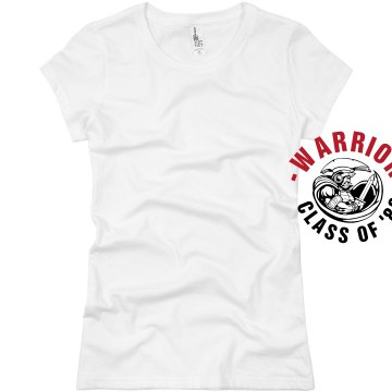 Warrior Class Reunion Junior Fit Basic Bella Favorite Tee