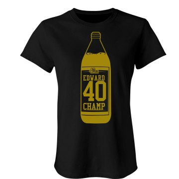Edward 40 Hands Champ Junior Fit Basic Bella Favorite Tee