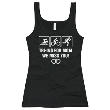 Triathlon for Mom Alo Women's Bamboo Racerback Tank Top