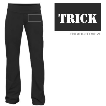 ...or Treat w&#x2F; Back Junior Fit Bella Fitness Pants