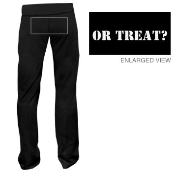 ...or Treat w/ Back Junior Fit Bella Fitness Pants
