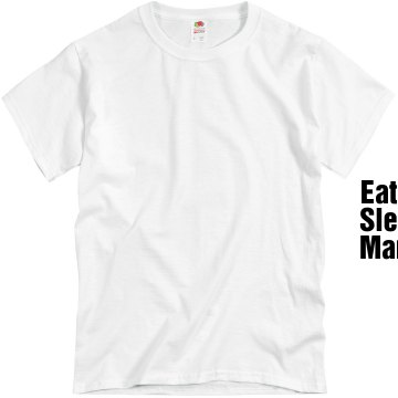 Eat Sleep Manga Unisex Basic Gildan Heavy Cotton Crew Neck Tee