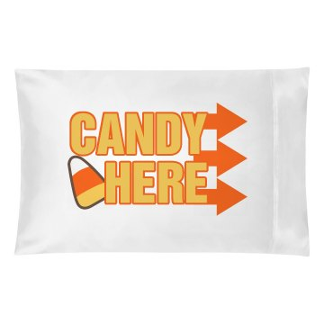 Candy Pillow Case Pillowcase