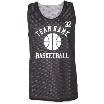 3 on 3 Basketball Jersey Badger Sport Mesh Reversible Tank