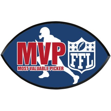 Most Valuable Picker Football Wood Plaque