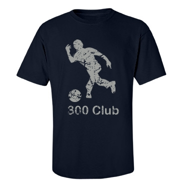 300 Club Bowler Unisex Port & Company Essential Tee