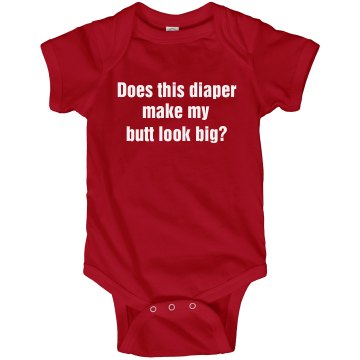 Funny Diaper Onesie Infant Rabbit Skins Lap Shoulder Creeper