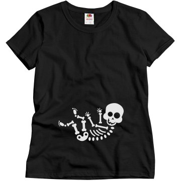 Halloween Baby Maternity Misses Relaxed Fit Gildan Heavy Cotton Tee