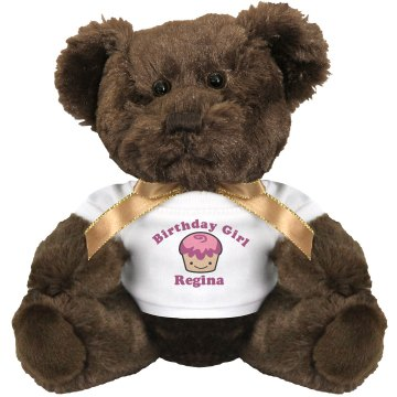 BIrthday Girl Regina Small Plush Teddy Bear