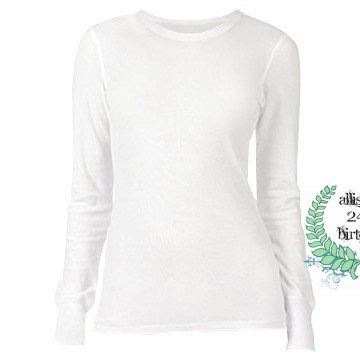 Allison&#x27;s 24th Birthday Junior Fit Bella Long Sleeve Thermal Tee