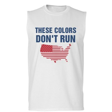 These Colors Dont Run Unisex Gildan Ultra Cotton Sleeveless Tee