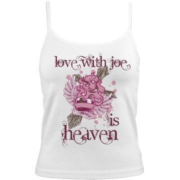 Love With Joe Is Heaven Bella Junior Fit Contrast Satin Trim Cami