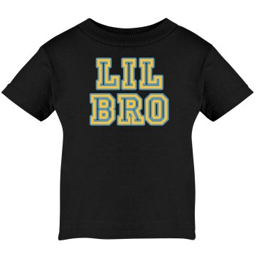 Lil Bro Tee Infant Rabbit Skins Lap Shoulder Tee