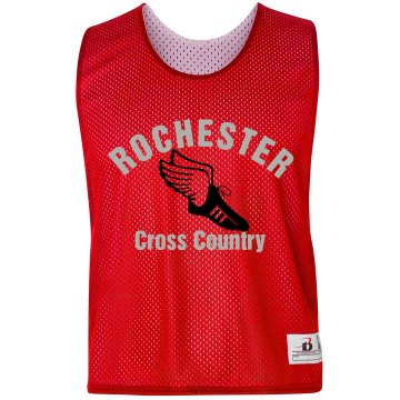 Cross Country Pinnie Badger Sport Lacrosse Reversible Practice Pinnie