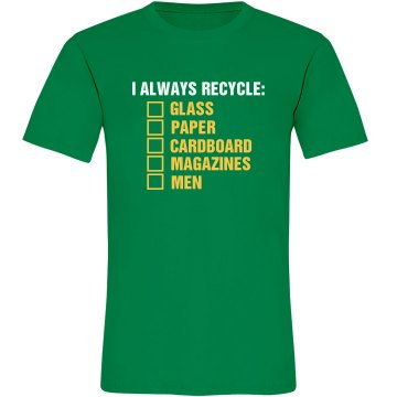 Earth Day Recycling List Misses Relaxed Anvil Organic Tee