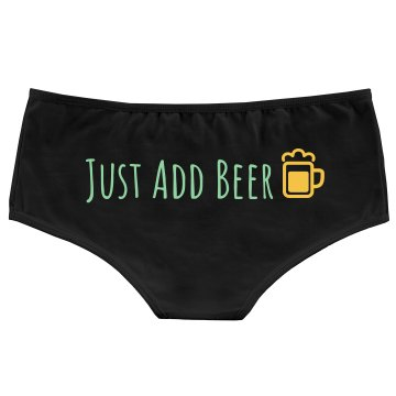 Just Add Beer Bella Hotshort