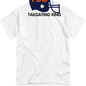 FSU Tailgate King Unisex Basic Gildan Heavy Cotton Crew Neck Tee