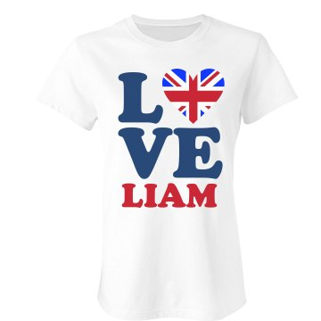 I Love Liam Junior Fit Bella Sheer Longer Length Rib Tee