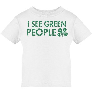 I See Green People Infant Infant Rabbit Skins Lap Shoulder Tee