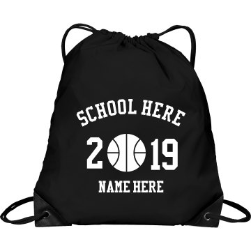 Lady Tigers Bag Port &amp; Company Drawstring Cinch Bag