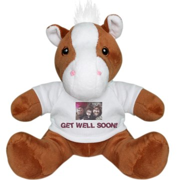 Get Well Soon! Plush Pony