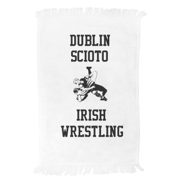 Irish Spirit Towel Fringed Spirit Towel