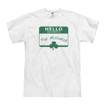 Hello Pat McCrotch Unisex Basic Gildan Heavy Cotton Crew Neck Tee
