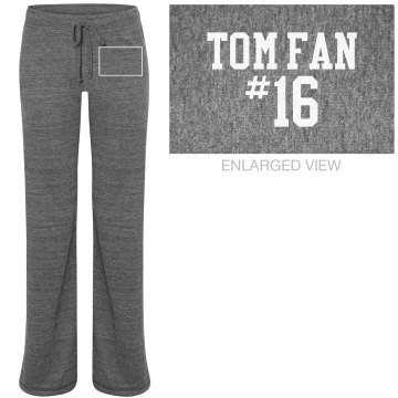 Tom Fan Junior Fit Bella Straight Leg Fleece Sweatpant