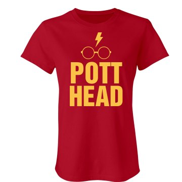 Proud Pott Head Junior Fit American Apparel Fine Jersey Tee