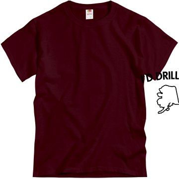 Drill Baby Drill-mens Unisex Gildan Heavy Cotton Crew Neck Tee