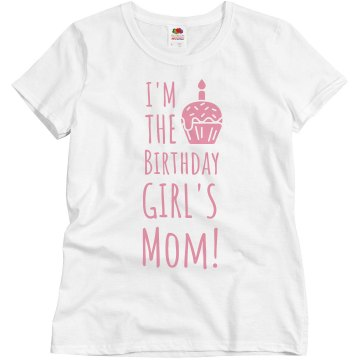 Birthday Girl&#x27;s Mom Misses Relaxed Fit Basic Gildan Ultra Cotton Tee