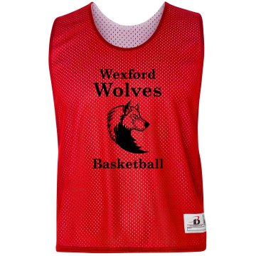 Wolves Basketball Pinnie Badger Sport Lacrosse Reversible Practice Pinnie