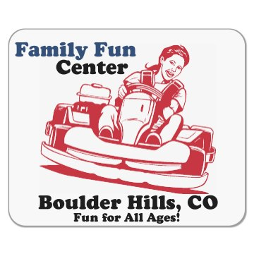 Family Fun Center Mousepad