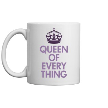 Queen Of The Mug 11oz Ceramic Coffee Mug