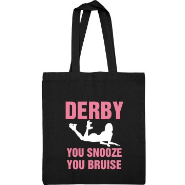 Derby Bruise Tote Port Authority Color Canvas Tote