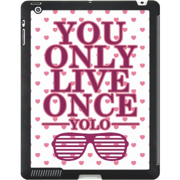 YOLO Shades iPad Case Black iPad Smart Cover