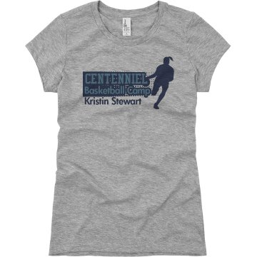 Centenniel Basketball Junior Fit Basic Bella Favorite Tee