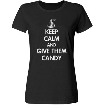 Keep Calm Grandparents Misses Relaxed Port &amp; Company Essential Tee