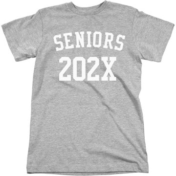 Seniors 2013 Tee Unisex American Apparel Fine Jersey Tee