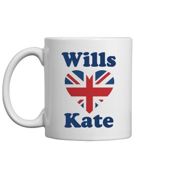 Cheers to Wills and Kate 11oz Ceramic Coffee Mug