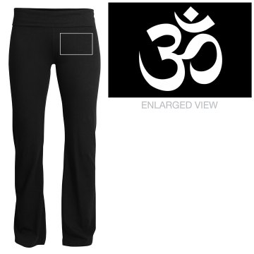 Yoga Symbol Yoga Pant Junior Fit Soffe Yoga Pants